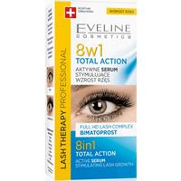Aktywne serum stymulujące wzrost rzęs 8w1 Total action