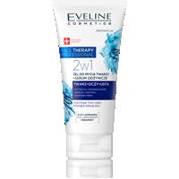 Żel do mycia twarzy + serum odżywcze 2w1
