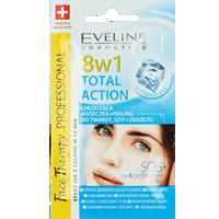 Chłodząca maseczka-peeling do twarzy, szyi i dekoltu 8w1