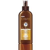 Wodoodporny olejek do opalania SPF10 z olejkiem arganowym