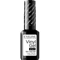 VINYL GEL lakier winylowy+top coat  2w1