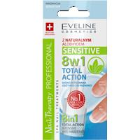 Skoncentrowana odżywka do paznokci Total Action Sensitive 8w1
