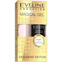 Zestaw Magical Gel lakier + top coat