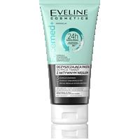 Oczyszczająca pasta do mycia twarzy z aktywnym węglem 3w1