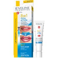 TOTAL ACTION Intensywny hialuronowy wypełniacz ust z kolagenem 8w1