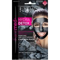 Oczyszczająco-nawilżająca maska węglowa 8w1