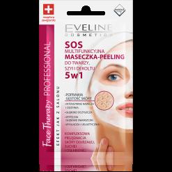 SOS  multifunkcyjna maseczka - peeling do twarzy, szyi i dekoltu 5w1